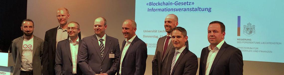 Blockchain Gesetz im Fürstentum Liechtenstein Ramona Salzgeber